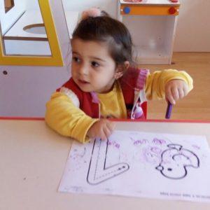 Antalya Bilge Kreş 3 yaş sınıfımız