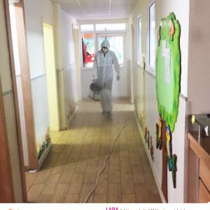 Covid19 Kapsamında okulumuzda yapılan dezenfektasyon çalışmaları